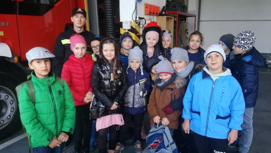 Wizyta w kinie i w Straży Pożarnej